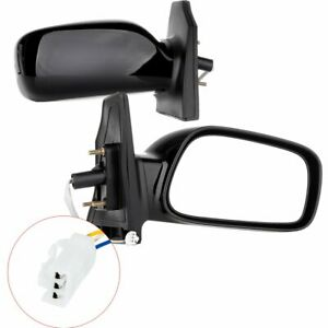 Power Mirrors For 2003 2008 Toyota Corolla Driver Passenger Side View Pair Set