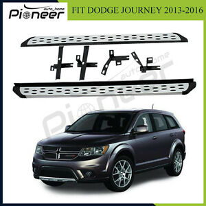 Fit For Dodge Journey Jcuv 2013 2017 Aluminium Running Boards Side Step Nerf Bar