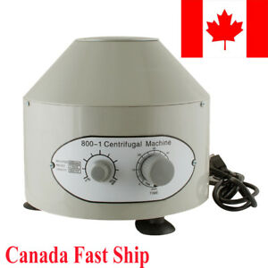Sale Electric Centrifuge Machine 4000rpm Lab Medical Practice Capacity 20 Ml X6
