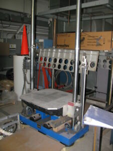 Mts 36 500 Ff Free Fall Accelerated Shock Test Machine Drop Tester