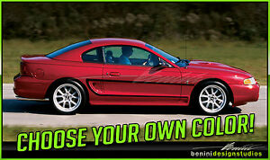 1994 1998 Ford Mustang C Stripe Vinyl Graphics Gt Cobra 1995 1996 1997