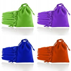 Velvet Jewellery Gift Bags Drawstring Pouches Soft 7x9 8x10 10x12 12x16 15