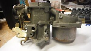 1965 Amc Carter Carburetor 3765s