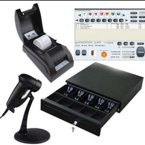 Pos All in one Solution Point Of Sale System Combo Kit Vape Shop Liquor Store