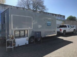 Food Trailer Truck Food Catering Truck Trailer all Stainless Steel Kitchen
