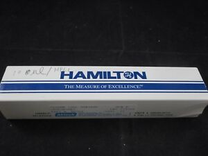 New Hamilton Glass Gastight Syringe 100 l 1710 Removable 2 Needle 22s Ga 81065
