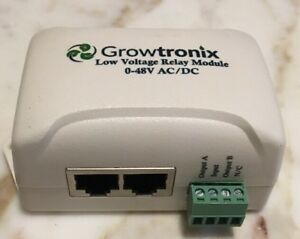 Growtronix Low Voltage Relay Module 0 48v Ac dc Single Unit 5 Available