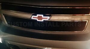 Front Grille Gold And White Led Light Up Emblem Bowtie Fits 2007 13 Chevrolet Gm