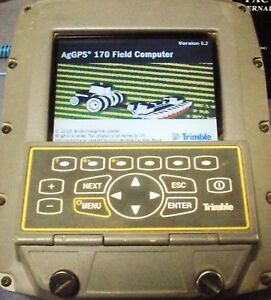 Used Trimble Ag170 Field Computer Display Junction Box