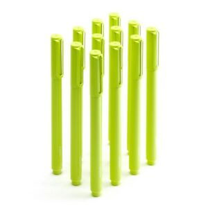 Poppin Lime Green Signature Ballpoints New