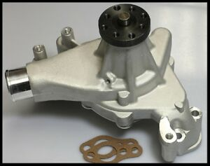 Sbc Chevy Long Water Pump With Aluminum Impeller 8012 S