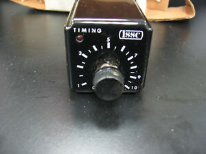Issc Industrial Solid State Timer With Original Box And Instructions 16fe963
