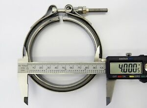 4 V Band Clamp Stainless Steel For Diesel Turbo Heavy Duty High Quality Vband