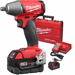 Milwaukee 2755b 22 M18 Fuel 1 2 Impact Wrench Friction Ring Kit New