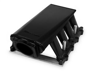 Holley 829032 Intake Manifold Fits 2011 2014 Ford Mustang F 150 Black Anodized