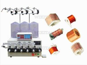New 6 Axis Computer Cnc Automatic Coils Transformer Winder Winding Machine Us Ka