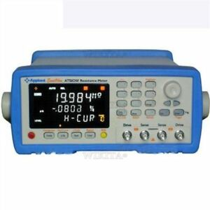Brand New At510m Electric Resistance Meter Micro Ohm Meter 100 20m At