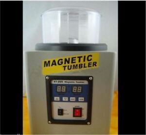 21cm Magnetic Tumbler Kt205 Big Capacity Polisher T205 Variable Speed Tr