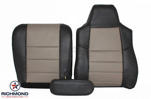 2005 Ford Excursion Eddie Bauer 4x4 Diesel Driver Complete Leather Seat Covers