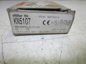 Ifm Electronic Kn5107 Level Sensor 10 36vdc used