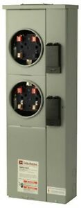 Meter Socket Dual Ring 125 Amp Electrical Underground Feed Cabling Ul Rated Ansi