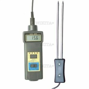 Grain Moisture Temperature Meter Tester Damp Wheat Corn Vp