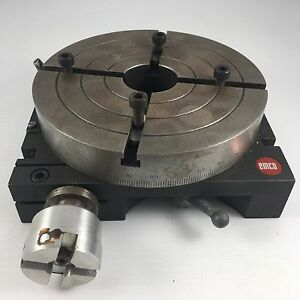 Emco 5 7 8 Indexing Rotary Table