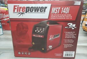 deal Of The Day New Firepower Mst 140i Mig Stick And Tig Welding System