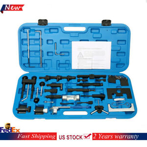 Fits Audi Vw Engine Belt Adjust Locking Timing Tool Kit Vag Petrol Diesel Set