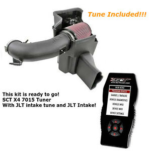 2015 2017 Mustang Gt 5 0 Jlt Cold Air Intake And Sct X4 Tuner With Tune For Jlt