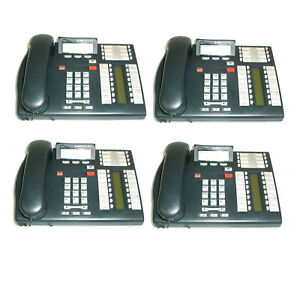 Lot Of 4 Bell South T7316e Office Phone Nt8b27 Multi line Programmable W handset