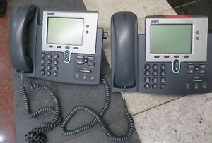 Lot Of 2 Cisco 7941g ge 7941g Ip Business Phones 7941