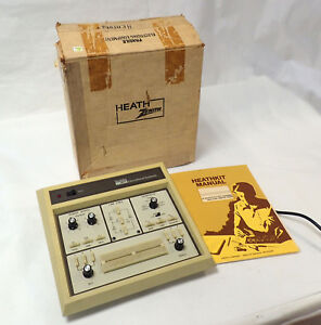 Heathkit Educational Systems Electronic Design Experimenter Et 3100 b W Manual