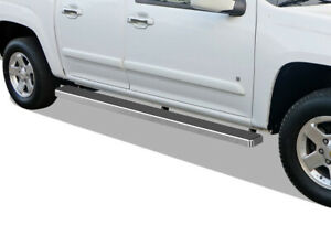 Iboard Running Boards 5 Fit 04 12 Chevy Colorado gmc Canyon Crew Cab