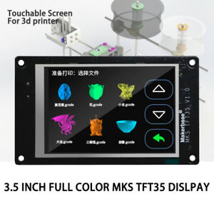 3 5 Mks Tft35 Full Color Touch Screen Lcd Controller For 3d Printer Reprap