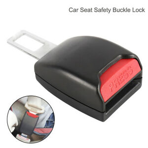 1pc Universal Auto Car Safety Seat Belt Buckle Extension Alarm Extender Usa