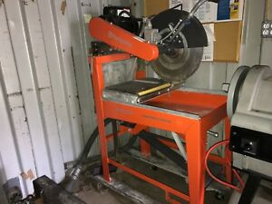 Husqvarna Ms510 Masonry Saw Wet Cut Electric 20 In