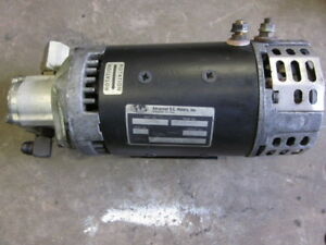 Crown Electric Forklift Hydraulic Pump Advanced Dc Motors 114330 140 01 4003 24v