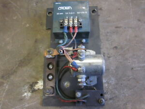 Crown Electric Forklift 20 Second Relay Timer 80105 2 24vdc 24v 24 V Dc