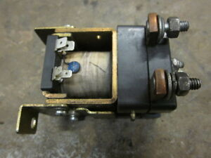 Crown Electric Forklift Fork Lift Contactor Contact Relay 200 Amp 125477 Ct200a