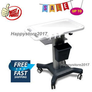 Trolley Cart Mobile Wheel Ultrasound Stand For Portable Ultrasound Scanner