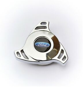 Chrome Air Cleaner Wing Nut Spinner Ford Truck Edelbrock Holley