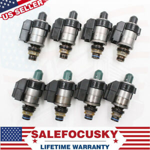 Oem 8 Pcs 722 9 7 Speed Automatic Transmission Solenoid For Mercedes Benz Tested