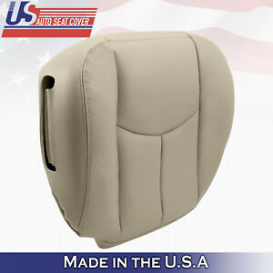 2003 2004 2005 2006 Chevy Tahoe Driver Bottom Seat Cover Shale Light Tan 522 52i