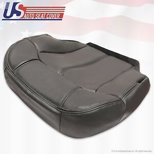 Driver Bottom Vinyl seat cover Graphite Gray 1999 2000 2001 2002 Chevy Silverado