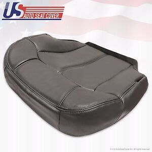 1999 2000 2001 2002 Chevy Silverado Passenger Bottom Vinyl seat cover Graphite