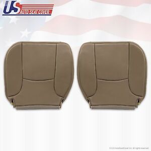2003 2004 2005 Dodge Ram 3500 St Driver Passenger Bottom Vinyl Seat Cover Tan