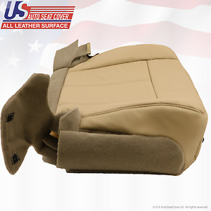 2007 2008 Ford Expedition Driver Side Bottom Leather Replacement Seat Cover Tan