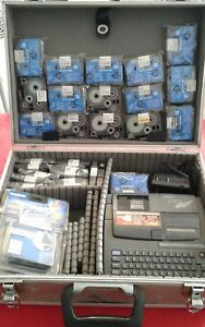 Brother P touch Extra Pt 520 Electronic Thermal Label Maker With Alot Of Tape