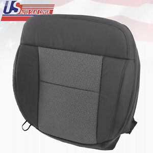 2004 2006 Ford F150 Passenger Bottom Replacement Cloth Seat Cover Dark Gray
